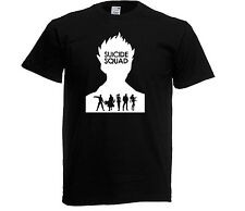 Suicide Squad Adult & kids T-Shirts GLOW IN THE DARK DESIGN , DC COMICS ##