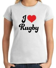 T-shirt Donna TRUG0025 i love rugby5 logo