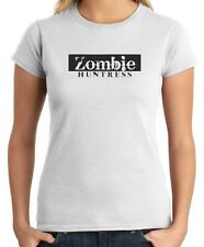 T-shirt Donna TZOM0014 zombie huntress
