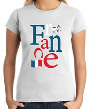 T-shirt Donna WC0052 FRANCIA FRANCE