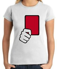 T-shirt Donna OLDENG00215 referee red card kids