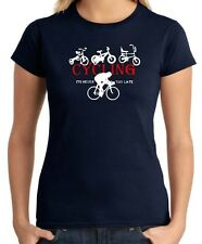 T-shirt Donna OLDENG00321 cycling cyclists