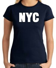 T-shirt Donna OLDENG00349 nyc new york city white