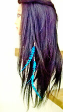 Feather Hair Extension Festival Extra Long Choose Colour ~UK Seller~ FAST POST