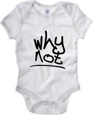 Body neonato T0424 why not fun cool geek