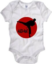 Body neonato TAM0001 aidan karate hooded sweatshirt