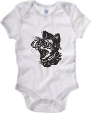 Body neonato FUN0139 06 05 2013 Punk Cat T SHIRT det