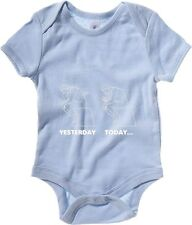 Body neonato T0742 yesterday today fun cool geek