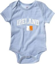 Body neonato TIR0084 ireland flag dark tshirt
