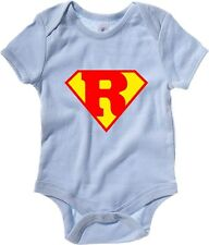 Body neonato T0668 R SUPERMAN fun cool geek