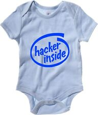 Body neonato T1100 hacker inside fun cool geek