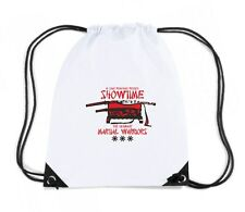 Zaino Zainetto Budget Gymsac  T0401 showtime the ultimate martial warriors arti
