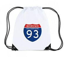 Zaino Zainetto Budget Gymsac  TSTEM0044 interstate 93 nh