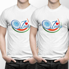 Combo Tshirts Men (Sports Wear) Independence Day 4 White (by iberrys)- Set of 2