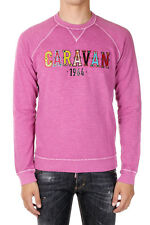 DSQUARED2 DEAN FIT Man Sweatshirt with Application Made in Italy
