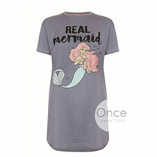PRIMARK Ladies DISNEY ARIEL THE LITTLE MERMAID Nightdress Night Shirt