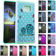 RHINESTONE Diamond Bling Impact Proof Hard Case for Samsung Galaxy Note 7 Cover