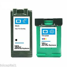 2 x Black & 2 x Colour Cartridges NonOEM Alternative For HP No 350XL & No 351XL