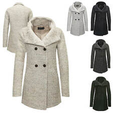 Only Damen Wollmantel Kurzmantel Übergangs & Winter Mantel Winterjacke Parka NEU