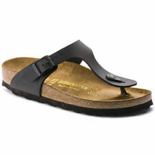 Birkenstock Gizeh Sandals - Matte Black - Made In Germany