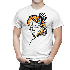 Krishna Janmashtami Special 9 (Krishna Face) Sports Wear T-Shirt by iberrys