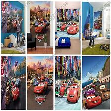 DISNEY CARS WALL MURALS 6 DESIGNS AVAILABLE KIDS BEDROOM 100% OFFICIAL FREE P+P