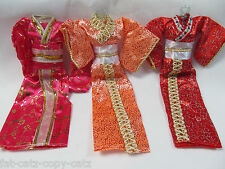 QUALITY UNIQUE JAPANESE STYLE BARBIE SINDY DOLL SIZED GEISHA OUTFIT DRESS UKSELL
