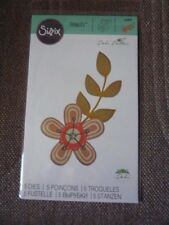 SIZZIX - 660869 - GARDEN FLOWERS - BRAND NEW IN PACKET - FITS STAMPIN UP BIGSHOT