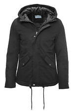 NUOVO Selected Giacca Invernale Uomo Cotone Parka Black - 40% Sale WOW