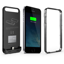 iFans® iPhone 5s/ 5/ SE Charger Case 2400mAh Battery Power Pack Apple Certified