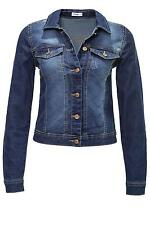 Jacqueline de Yong Donna Giacca Jeans In Denim Giacca Scura Denim Blu WOW - 25%