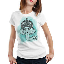 Ganesh Chaturthi Special 6 (Ganesha Face) Sports Wear T-Shirt by iberrys