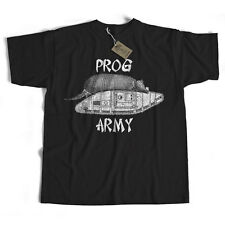 Prog Army T Shirt - An Old Skool Hooligans Prog Rock Original Progressive Rock