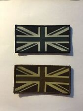 Large Union Jack UK Flag Badge Patch Velcro Military Army Navy RAF RCAF (F4/G6)