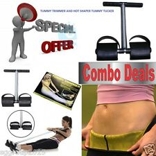 Combo Deal *MAKE HOT AND SLIM * HOT SHAPER WITH TUMMY TRIMMER FOR MEN AND WOMEN