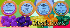 3 Pots of Busy Bee Candles MAGIK BEANZ  Highly Scented Soy Wax Melts Tart Beans