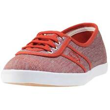 Fred Perry Aubrey Space Dyed Damen Trainers Amber Nylon