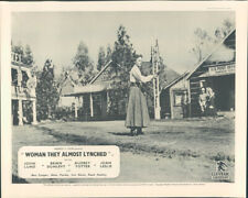 Woman They Almost Lynched Joan Leslie U.S. Post Office Lobby Card Audrey Totter