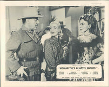 Woman They Almost Lynched Audrey Totter Joan Leslie Brian Donlevy Lobby Card