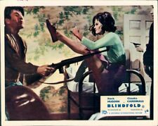 Blindfold Claudia Cardinale Original Uk Lobby Card