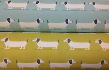 *NEW* Fryetts HOUND DOG Dachshund Cotton Print Fabric.Upholstery/Curtains/Crafts