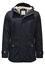 Selected Herren Winterjacke Parka Wintermantel Mantel Jacke Jacket Navy WOW SALE