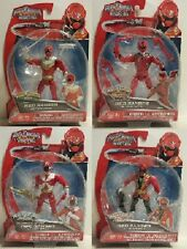 Power Rangers Super Megaforce Red Lightspeed Jungle Zeo Action Figures Wave 4