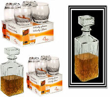 Whisky Set Karaffe / Whiskygläser Glas Gläser Tasting Whisky Bourbon Scotch