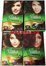 Dabur Vatika Henna Powder Best Hair Color Choose Your Color USA Seller Fast Ship