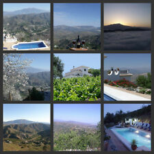 Spanish self catering holiday apartment sleeps 4 lovely views & pool near Malaga