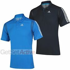 adidas Mens Clima Core climacool Training Polo Shirt Tennis Top Golf T-Shirt Tee