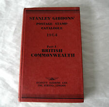 Stanley Gibbons Stamp Catalogue 1964 Part 1 Stamps of British Commonwealth
