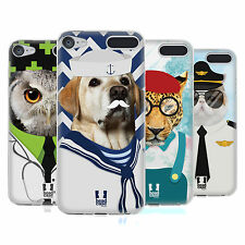HEAD CASE DESIGNS ANIMALS AND PROFESSION SOFT GEL CASE FOR APPLE iPOD TOUCH MP3