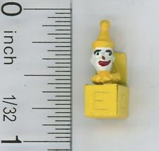 Dollhouse Miniature 1:12 Scale Jack-in-the-Box in Yellow